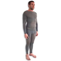 Bodywear Homme tenue combinaison collant de palper rouler/endomassage